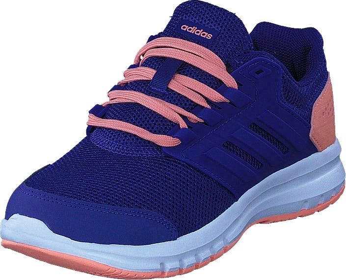 Image of Adidas Sport Performance Galaxy 4 K Real Purple/Chalk Coral/White, Kengät, Sneakerit ja urheilukengät, Tennarit, Sininen, Lapset, 40
