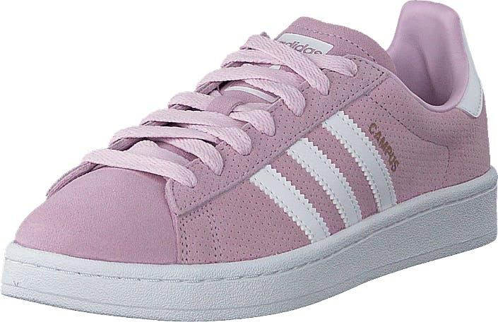 Image of Adidas Originals Campus J Aero Pink S18/Ftwr White, Kengät, Sneakerit ja urheilukengät, Sneakerit, Violetti, Lapset, 38