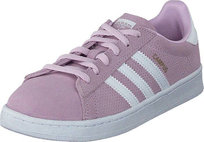 Image of Adidas Originals Campus C Aero Pink S18/Ftwr White, Kengät, Sneakerit ja urheilukengät, Sneakerit, Violetti, Vaaleanpunainen, Lapset, 29