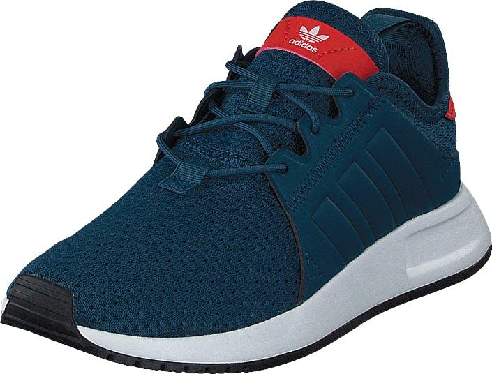 Image of Adidas Originals X_Plr J Petrol Night F17/Ftwr White, Kengät, Sneakerit ja urheilukengät, Urheilukengät, Sininen, Turkoosi, Lapset, 36