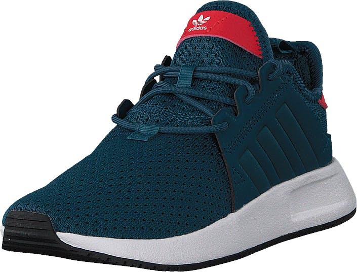 Image of Adidas Originals X_Plr C Petrol Night F17/Ftwr White, Kengät, Sneakerit ja urheilukengät, Tennarit, Turkoosi, Lapset, 30