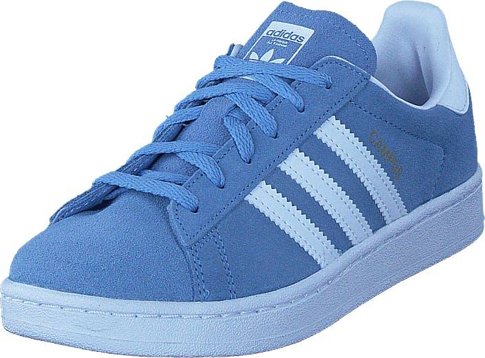 Image of Adidas Originals Campus C Ash Blue S18/Ftwr White, Kengät, Sneakerit ja urheilukengät, Sneakerit, Sininen, Lapset, 32