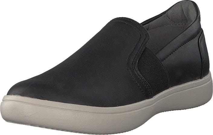 Rockport Ariell Gore Slip-on Black Lea, Kengät, Tennarit ja Urheilukengät, Sneakerit, Musta, Naiset, 35