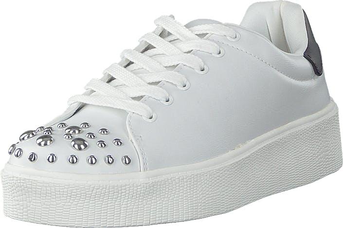 Vero Moda Vmsitta Sneaker Snow White, Kengät, Tennarit ja Urheilukengät, Sneakerit, Valkoinen, Naiset, 37
