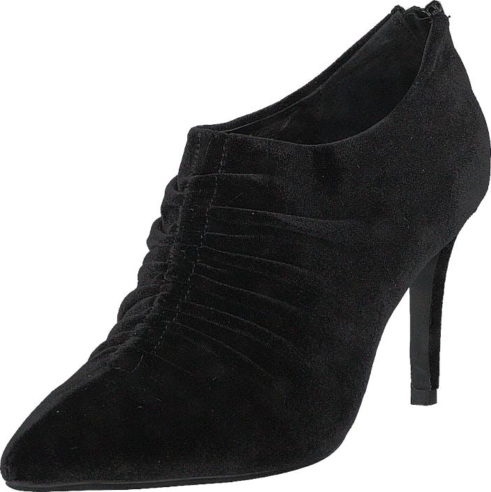 Sofie Schnoor Shoe Stiletto Velvet Black, Kengät, Saappaat ja Saapikkaat, Matalat Nilkkurit, Musta, Naiset, 38