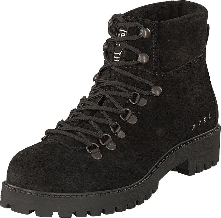 Svea Chris Boots Black, Kengät, Bootsit, Kengät, Musta, Naiset, 37