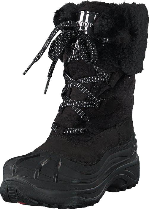 Ilse Jacobsen Ice9510 Black, Kengät, Saappaat ja saapikkaat, Lämminvuoriset talvisaappaat, Musta, Naiset, 37