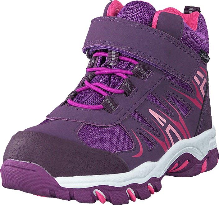 Gulliver 430-2387 Waterproof Warm Lined Purple, Kengät, Tennarit ja Urheilukengät, Korkeavartiset tennarit, Violetti, Lapset, 31