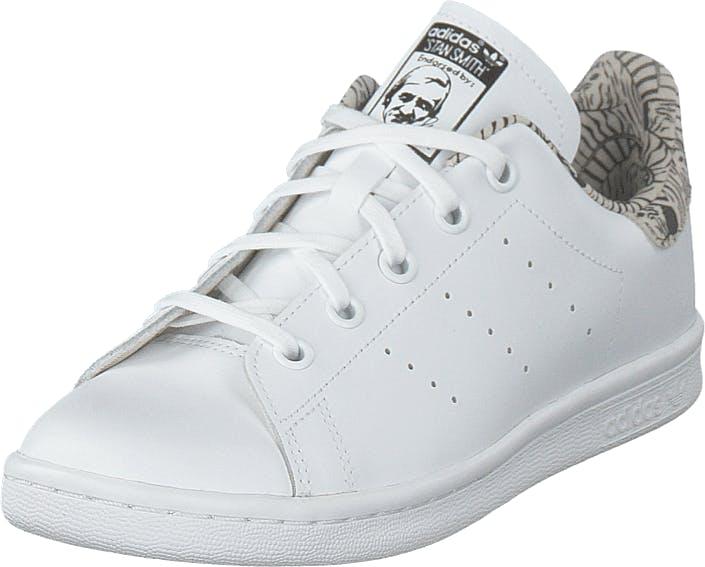 Image of Adidas Originals Stan Smith C Ftwwht/ftwwht/cblack, Kengät, Sneakerit ja urheilukengät, Sneakerit, Valkoinen, Lapset, 28