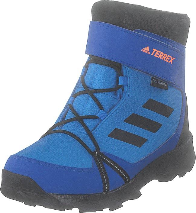 Adidas Sport Performance Terrex Snow Cf Cp Cw K Brblue/cblack/hireor, Kengät, Bootsit, Lämminvuoriset kengät, Sininen, Lapset, 28