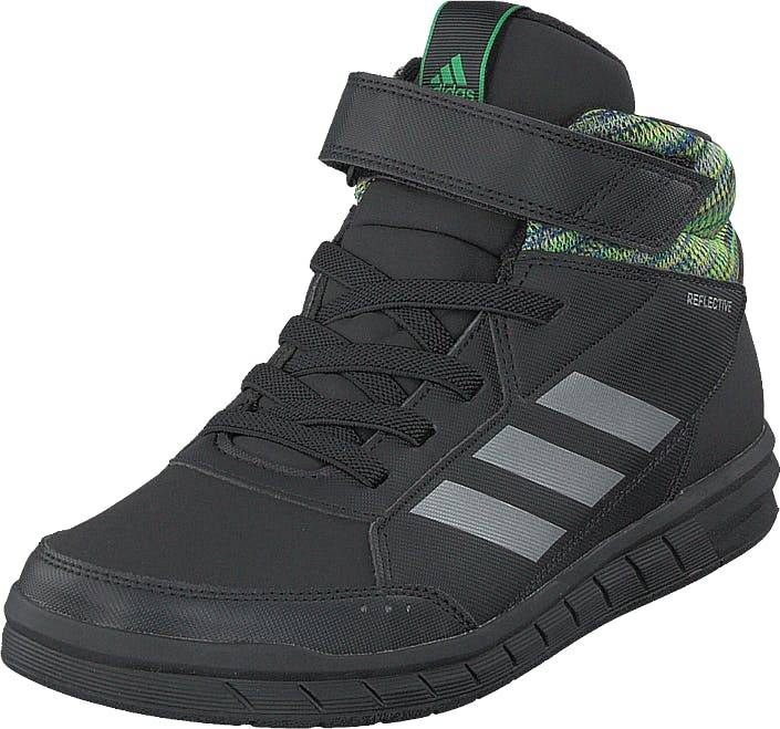 Adidas Sport Performance Altasport Mid Btw K Blue/refsil/cblack, Kengät, Sneakerit ja urheilukengät, Korkeavartiset tennarit, Musta, Lapset, 28