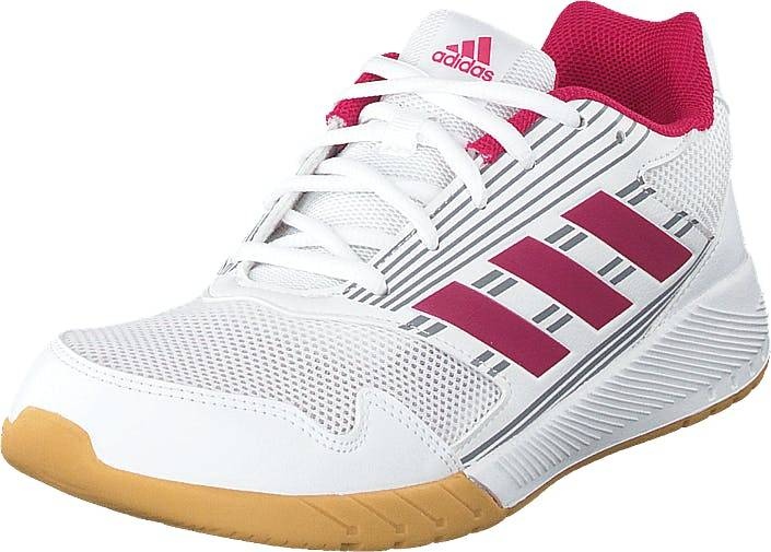 Image of Adidas Sport Performance Altarun K Ftwwht/bopink/midgre, Kengät, Sneakerit ja urheilukengät, Urheilukengät, Valkoinen, Lapset, 37