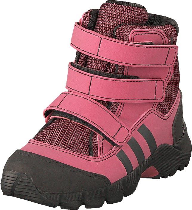 Adidas Sport Performance Cw Holtanna Snow Cf I Tramar/carbon/grefou, Kengät, Bootsit, Lämminvuoriset kengät, Ruskea, Vaaleanpunainen, Lapset, 23