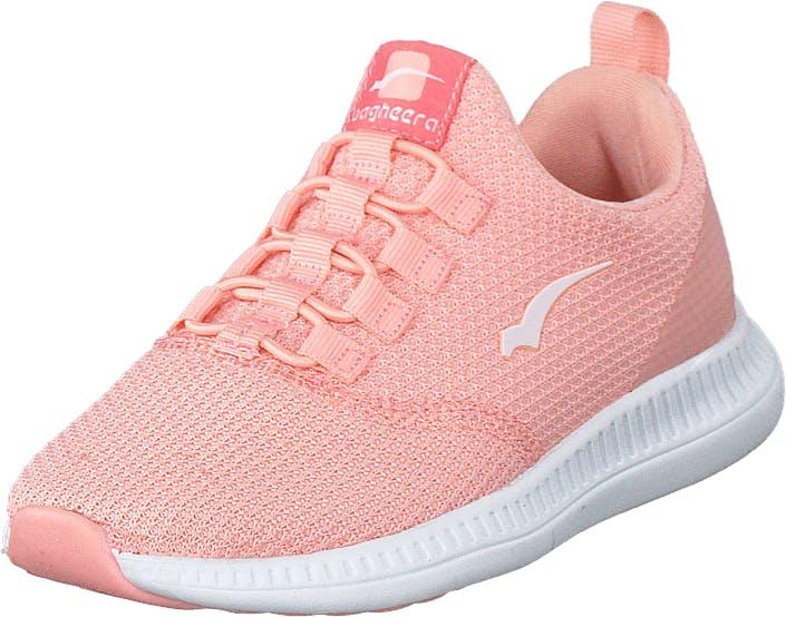Bagheera Sway Jr Soft Pink/white, Kengät, Tennarit ja Urheilukengät, Sneakerit, Valkoinen, Lapset, 32
