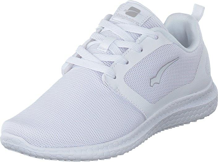 Bagheera Cruise White, Kengät, Tennarit ja Urheilukengät, Sneakerit, Valkoinen, Unisex, 40