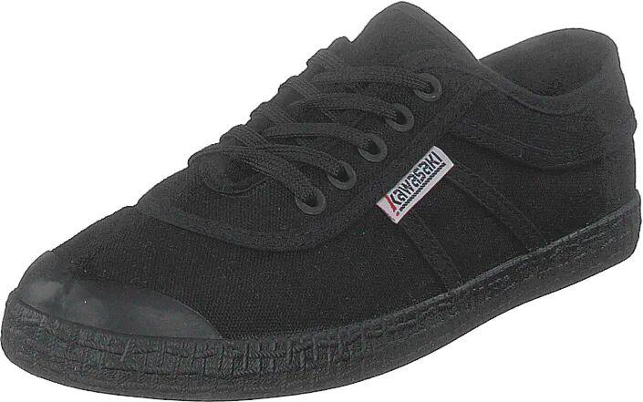 Kawasaki Original Black Solid, Kengät, Matalapohjaiset kengät, Kangaskengät, Musta, Unisex, 36