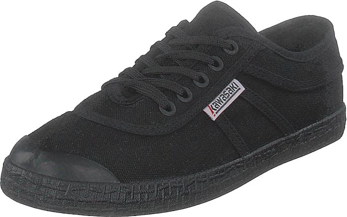 Kawasaki Original Black Solid, Kengät, Matalapohjaiset kengät, Kangaskengät, Musta, Unisex, 39