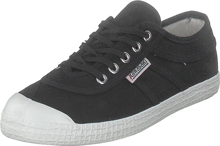 Kawasaki Original Black, Kengät, Sneakerit ja urheilukengät, Varrettomat tennarit, Musta, Unisex, 45