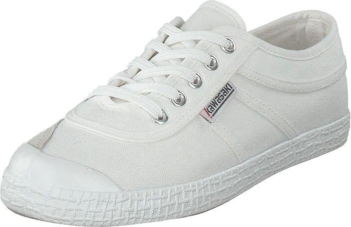 Kawasaki Original White, Kengät, Sneakerit ja urheilukengät, Varrettomat tennarit, Valkoinen, Unisex, 43