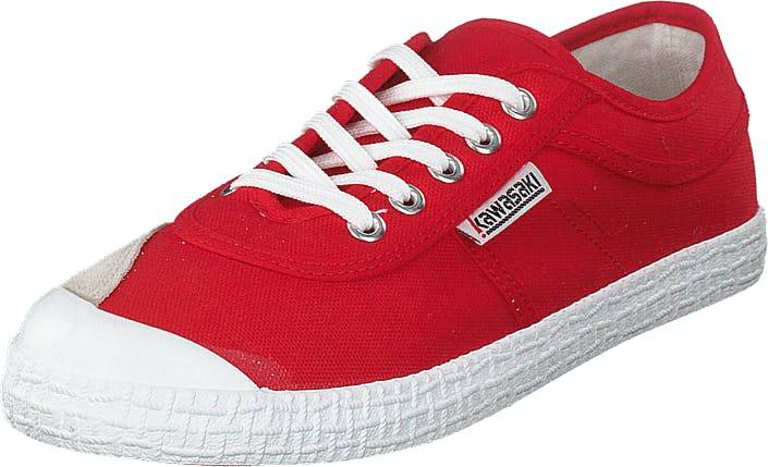 Kawasaki Original Fiery Red, Kengät, Sneakerit ja urheilukengät, Varrettomat tennarit, Punainen, Unisex, 41