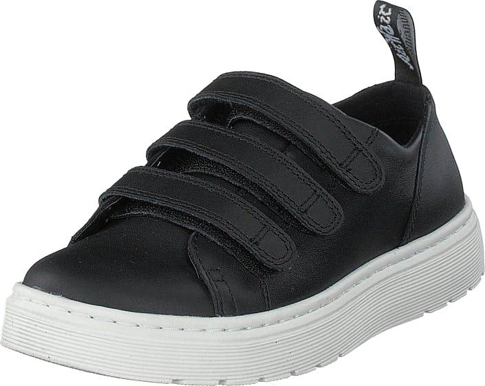 Image of Dr Martens Dante Strap Black, Kengät, Sneakerit ja urheilukengät, Sneakerit, Musta, Naiset, 39