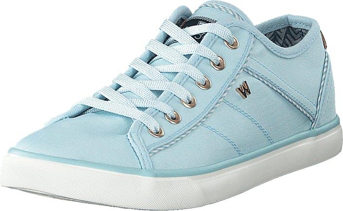 Wrangler Starry Lace Blue, Kengät, Sneakerit ja urheilukengät, Varrettomat tennarit, Sininen, Naiset, 36