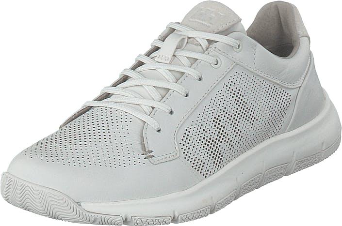 Image of Helly Hansen W Skagen Leather Shoe White, Kengät, Sneakerit ja urheilukengät, Sneakerit, Valkoinen, Naiset, 40