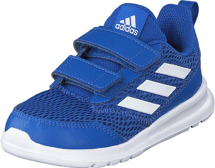 Image of Adidas Sport Performance Altarun Cf I Blue/ftwwht/blue, Kengät, Sneakerit ja urheilukengät, Urheilukengät, Sininen, Lapset, 24