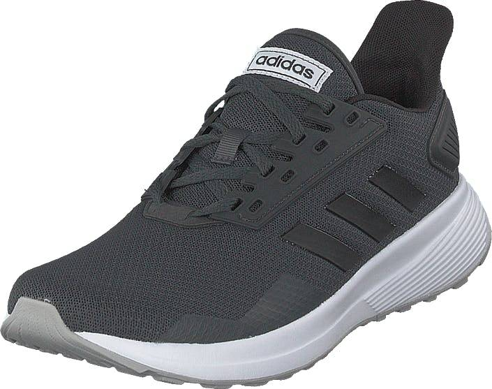 Image of Adidas Sport Performance Duramo 9 Carbon/cblack/gretwo, Kengät, Sneakerit ja urheilukengät, Urheilukengät, Harmaa, Naiset, 39