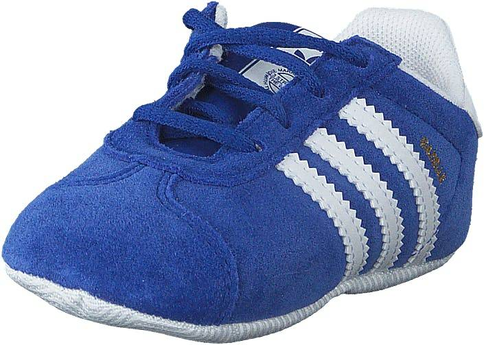Image of Adidas Originals Gazelle Crib Conavy/ftwwht/goldmt, Kengät, Sneakerit ja urheilukengät, Sneakerit, Sininen, Lapset, 18