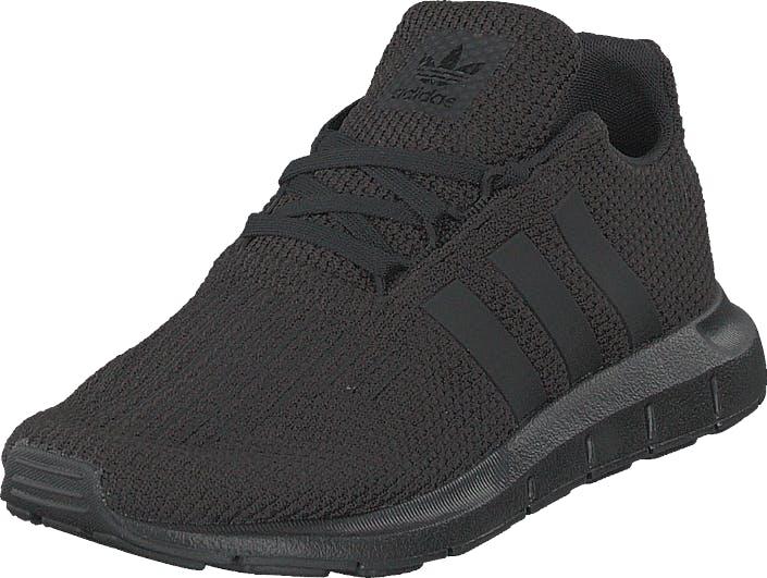 Image of Adidas Originals Swift Run C Cblack/cblack/cblack, Kengät, Sneakerit ja urheilukengät, Tennarit, Musta, Lapset, 31