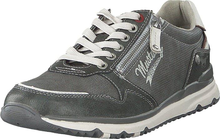 Mustang 4095316 20 Dunkelgrau, Kengät, Sneakerit ja urheilukengät, Sneakerit, Harmaa, Miehet, 44