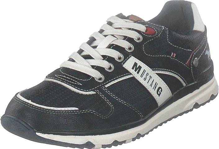 Mustang 4095317 820 Navy, Kengät, Sneakerit ja urheilukengät, Sneakerit, Harmaa, Sininen, Miehet, 44
