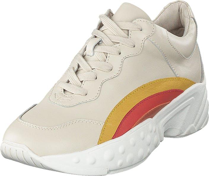 Sofie Schnoor Sneaker Rainbow Off - Off White, Kengät, Tennarit ja Urheilukengät, Sneakerit, Valkoinen, Naiset, 37