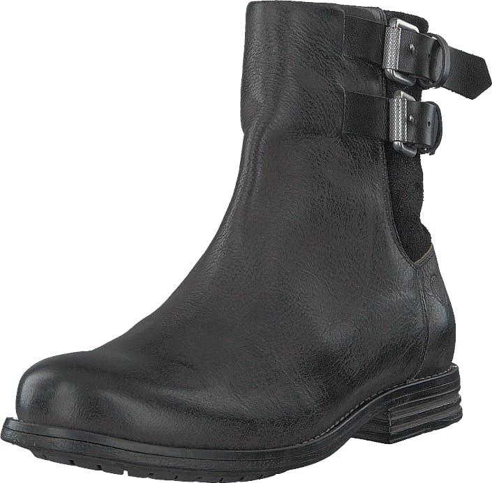 Sneaky Steve Coney Black, Kengät, Bootsit, Korkeavartiset bootsit, Harmaa, Naiset, 38