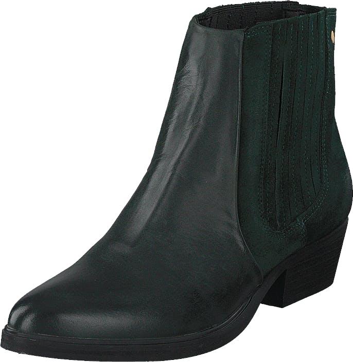 Sneaky Steve Pushy 2 Green, Kengät, Bootsit, Chelsea boots, Musta, Naiset, 36