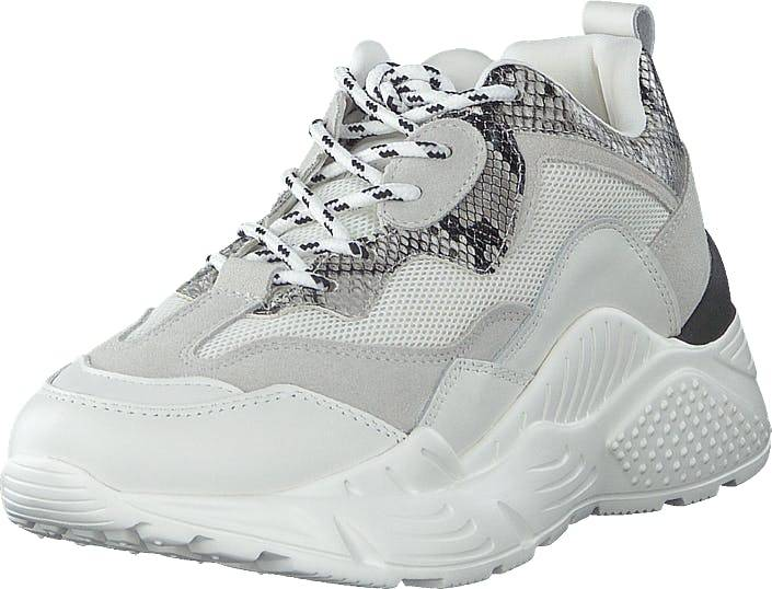 Steve Madden Antonia Sneaker White Multi, Kengät, Tennarit ja Urheilukengät, Urheilukengät, Valkoinen, Naiset, 38