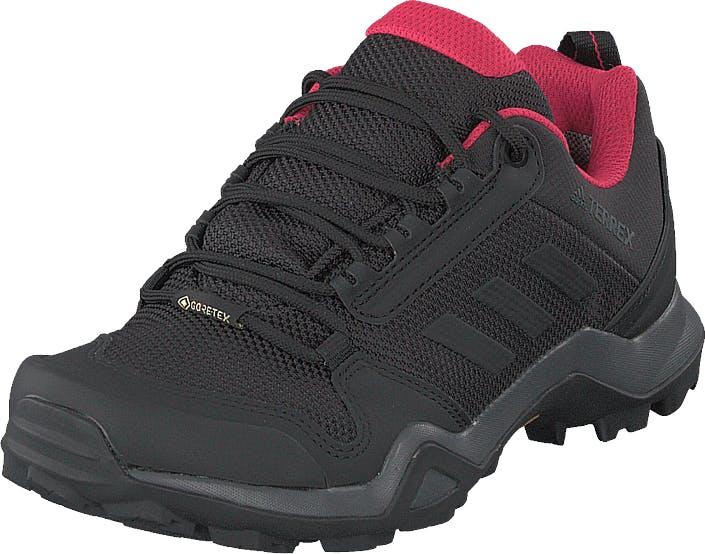 Adidas Sport Performance Terrex Ax3 Gtx W Carbon/core Black/active Pink, Kengät, Tennarit ja Urheilukengät, Tennarit, Musta, Naiset, 40
