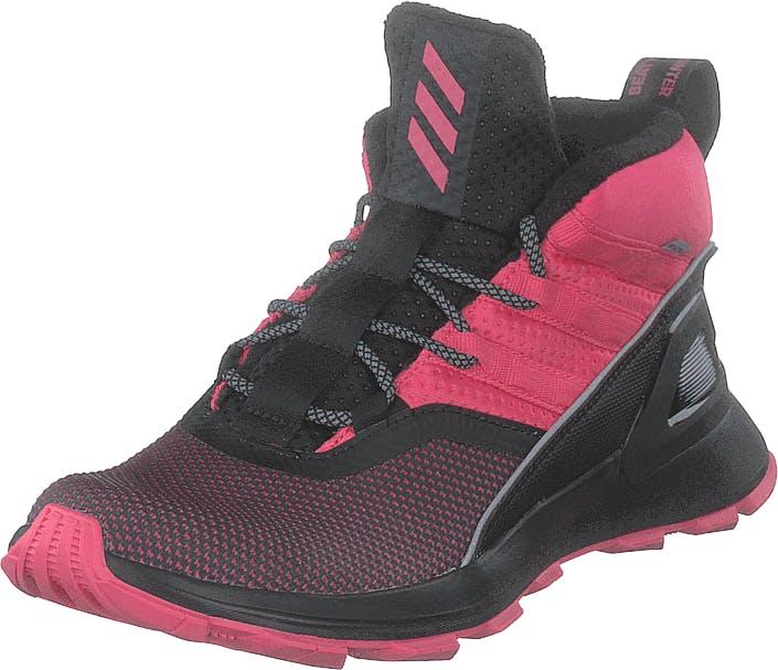 Adidas Sport Performance Rapidarun Atr Btw K Core Black/real Magenta/real P, Kengät, Tennarit ja Urheilukengät, Korkeavartiset tennarit, Vaaleanpunainen, Unisex, 33