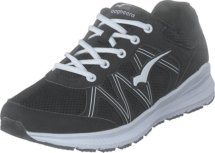 Bagheera Aurora Black/white, Kengät, Tennarit ja Urheilukengät, Sneakerit, Musta, Unisex, 38
