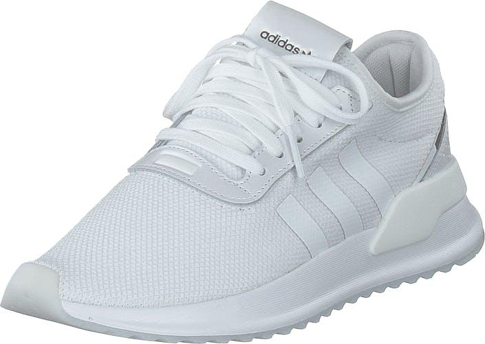 Image of Adidas Originals U_path X W Ftwr White/purple Beauty/core, Kengät, Sneakerit ja urheilukengät, Sneakerit, Valkoinen, Naiset, 36