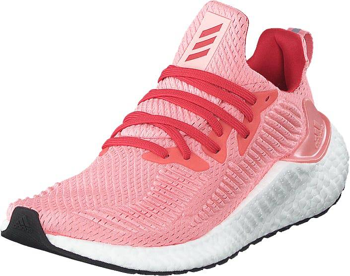Adidas Sport Performance Alphaboost W Glory Pink/glory Red/silver Me, Kengät, Tennarit ja Urheilukengät, Urheilukengät, Harmaa, Vaaleanpunainen, Hopea, Naiset, 38