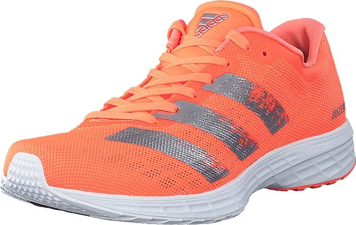 Adidas Sport Performance Adizero Rc 2 W Signal Coral/silver Met./ftwr, Kengät, Tennarit ja Urheilukengät, Urheilukengät, Oranssi, Punainen, Hopea, Naiset, 40