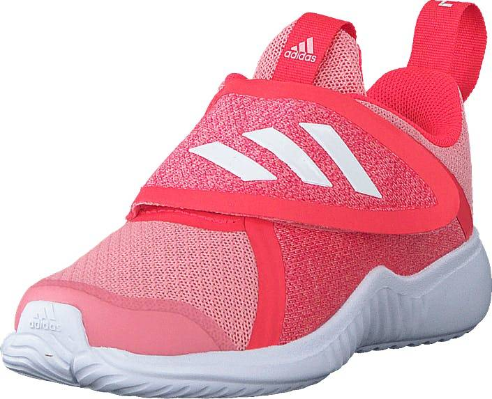 Adidas Sport Performance Fortarun X Cf I Glory Pink/ftwr White/shock Re, Kengät, Tennarit ja Urheilukengät, Urheilukengät, Vaaleanpunainen, Lapset, 25