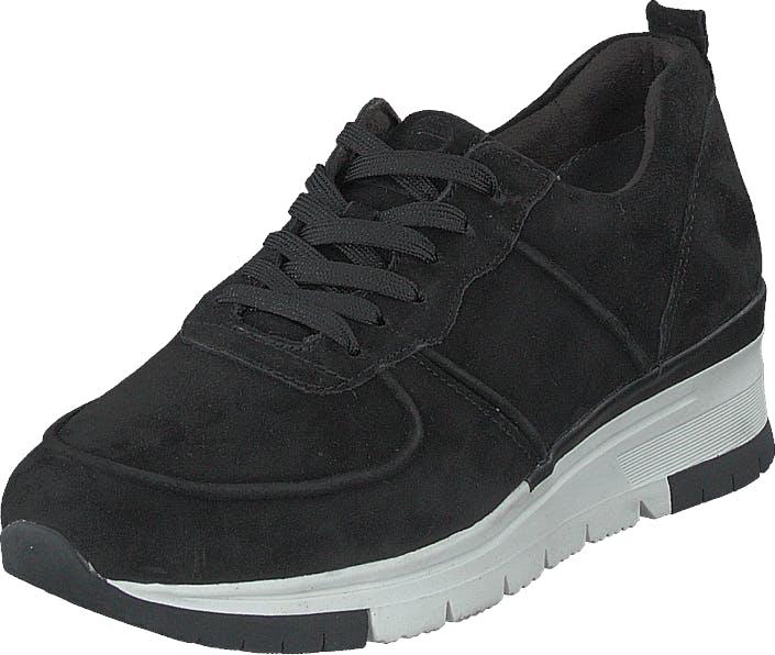 Image of Tamaris 1-1-23745-24 Black/plain, Kengät, Tennarit ja Urheilukengät, Sneakerit, Musta, Naiset, 40