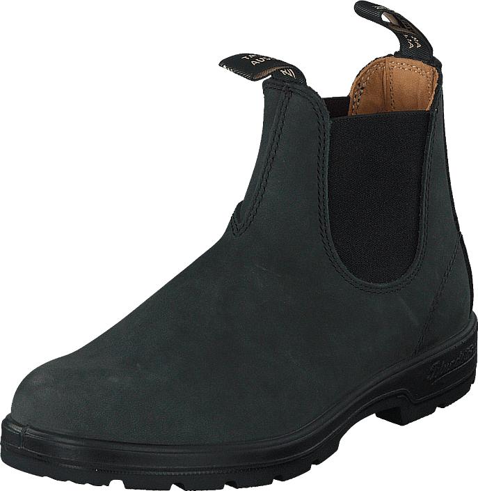 Blundstone 587 Rustic Black Rustic Black, Kengät, Bootsit, Chelsea boots, Harmaa, Unisex, 43