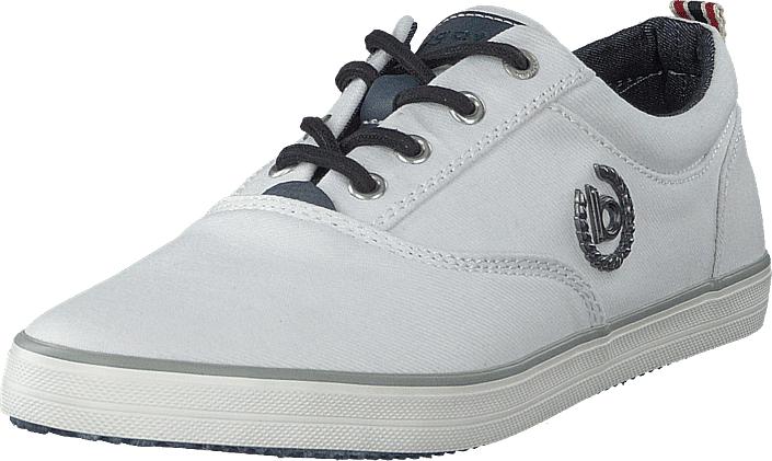 Bugatti Alfa White, Kengät, Sneakerit ja urheilukengät, Sneakerit, Harmaa, Miehet, 42