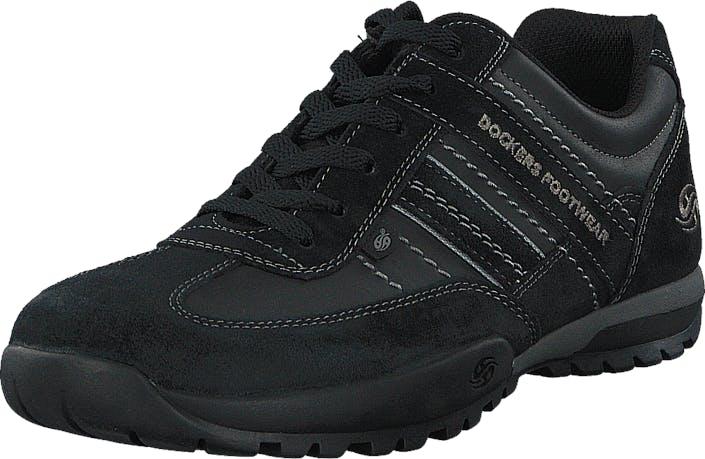 Dockers by Gerli 36HT001-204120 Black, Kengät, Sneakerit ja urheilukengät, Tennarit, Musta, Miehet, 40