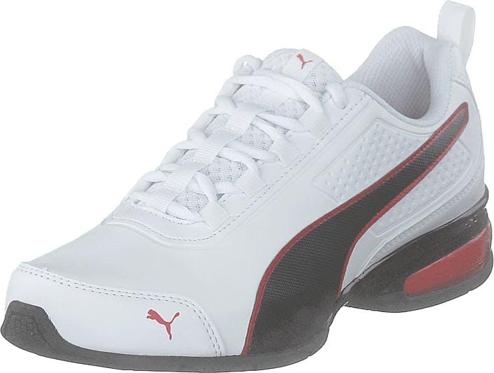 Puma Leader Vt Sl Puma White-puma Black-flame, Kengät, Sneakerit ja urheilukengät, Sneakerit, Valkoinen, Unisex, 41