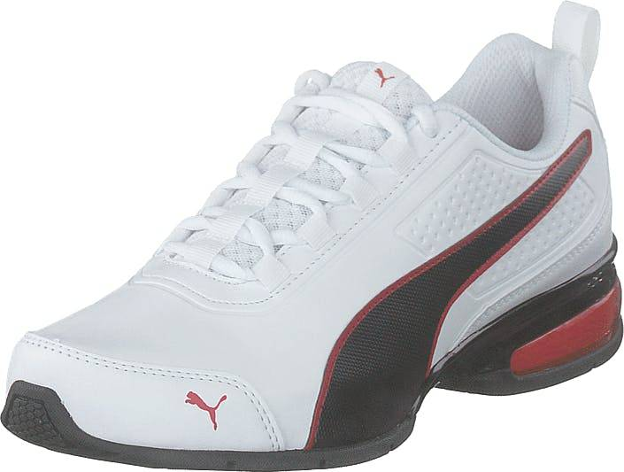 Puma Leader Vt Sl Puma White-puma Black-flame, Kengät, Sneakerit ja urheilukengät, Sneakerit, Valkoinen, Unisex, 46